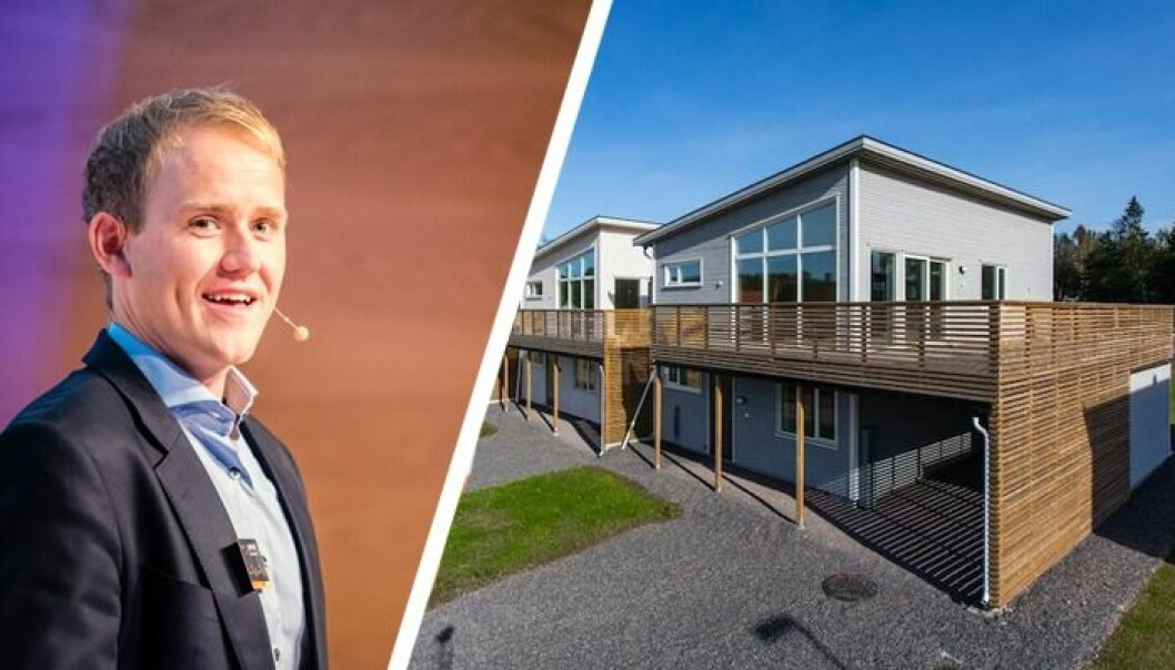 Geir Atle Bore og FundingPartner gjennomførte sitt så langt største prosjekt i forrige uke. Foto: Kjetil Groven