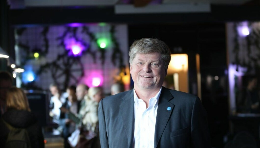 Svein Berg, er managing director i Nordic Innovation. Foto: Lucas Weldeghebriel.