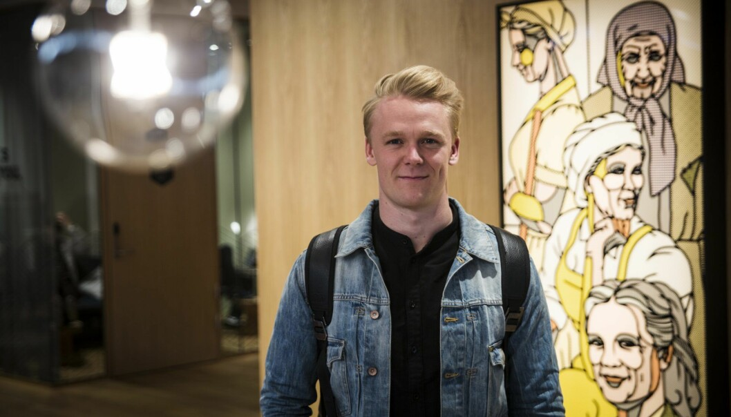 Didrik Dimmen, tidligere markedssjef i Flowmotion. Foto: Per-Ivar Nikolaisen