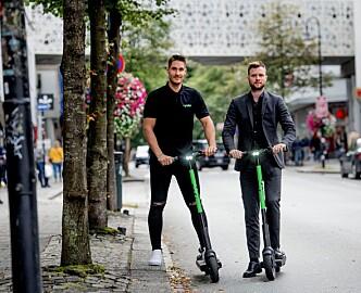 Sparkesykkel-gründerne dro fra Oslo da kaoset startet: Nå renner millionene inn i Trondheim