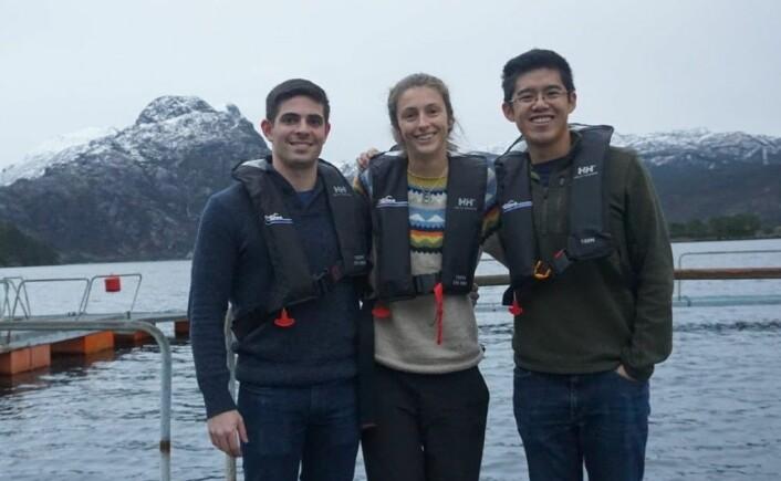 John Costantino, Natalie Brennan og Tony Chen i Manolin. Foto: Manolin