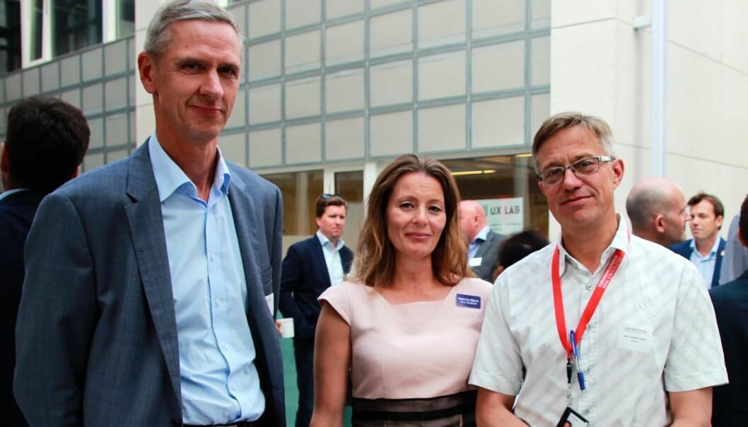 Olav Steinnes, Inven2, Kathrine Myhre, Oslo Medtech og Karl-Christian Agerup, Oslotech.