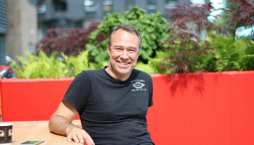 Anders Eikenes i Oivi. Foto: Astrid Bjerke Lund, Forskningsparken