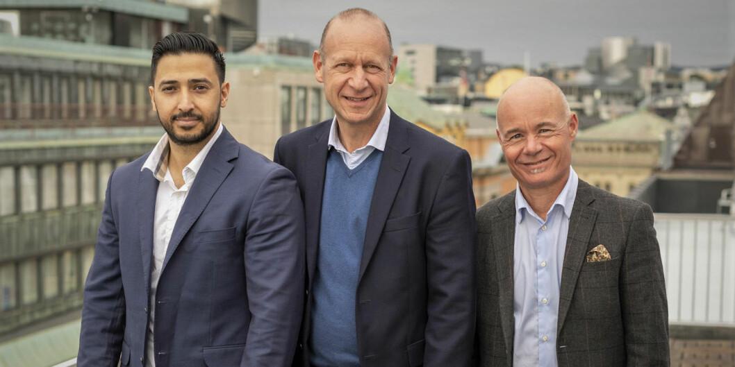 Perx' nye ledelse er hentet fra BRAbank: Jamal Hussain, Morten Grusd og Sven Arnesen.