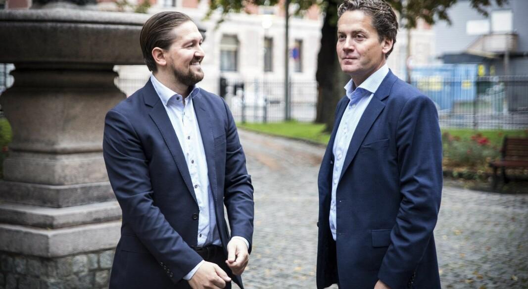 Ex-sjef Åsmund Furuseth selger Kahoot-aksjer til daglig leder Eilert Hanoa.