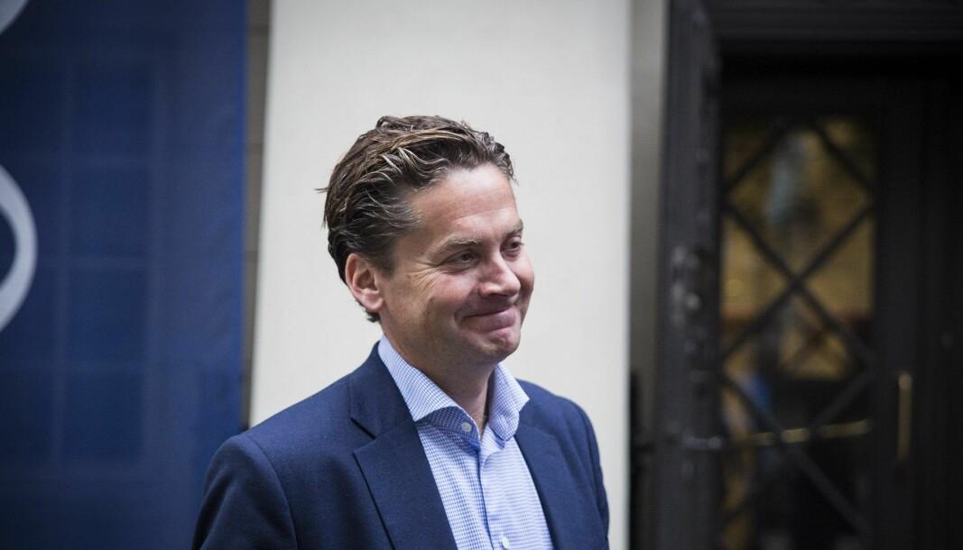 Eilert Hanoa, CEO i Kahoot. Foto: Per-Ivar Nikolaisen