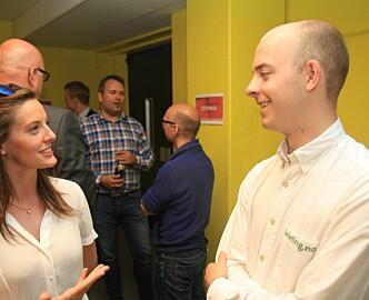 På startupjobbjakt i Bergen. 16 startups møtte 100 håpefulle jobbsøkere.