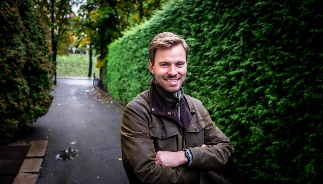 Henrik Sjølie, daglig leder i Intellitech og tidligere i Tribe Venneforsikring. Foto: Vilde Mebust Erichsen