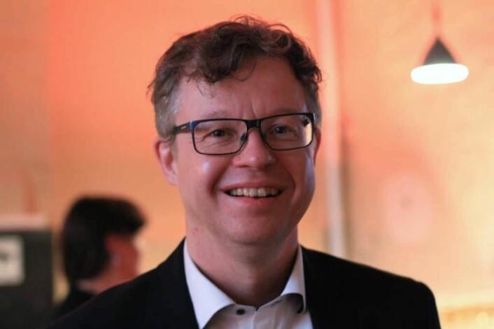 TILRETTELEGGER: David Almström, CEO i Tiandi er skeptisk til aktivt kinesisk eierskap i Skandinavia, og mener investeringer gjennom fond er en bedre løsning. Foto: Lucas H. Weldeghebriel
