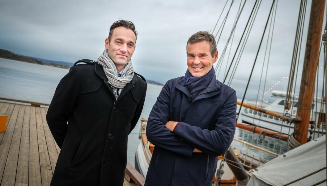 Glenn Edvardsen og Stig Linna i VesselMan. Foto: Vilde Mebust Erichsen