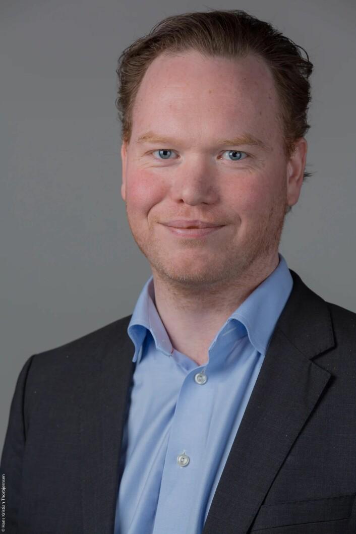 Magnus Thue (H), statssekretær for næringsministeren. Foto: Høyre