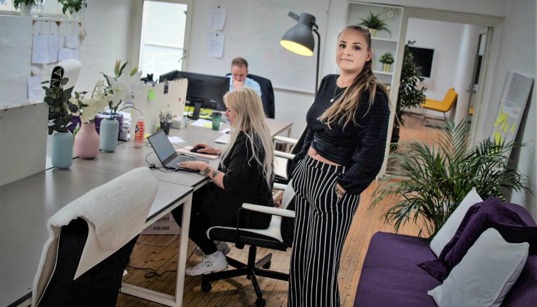 Gründer Fanny Ødegård i Moodie fikk et tøft møte med outsourcing-problematikken, men vil ikke fraråde andre å søke kompetansen de mangler utenfor landets grenser. Foto: Magnus Peter Harnes