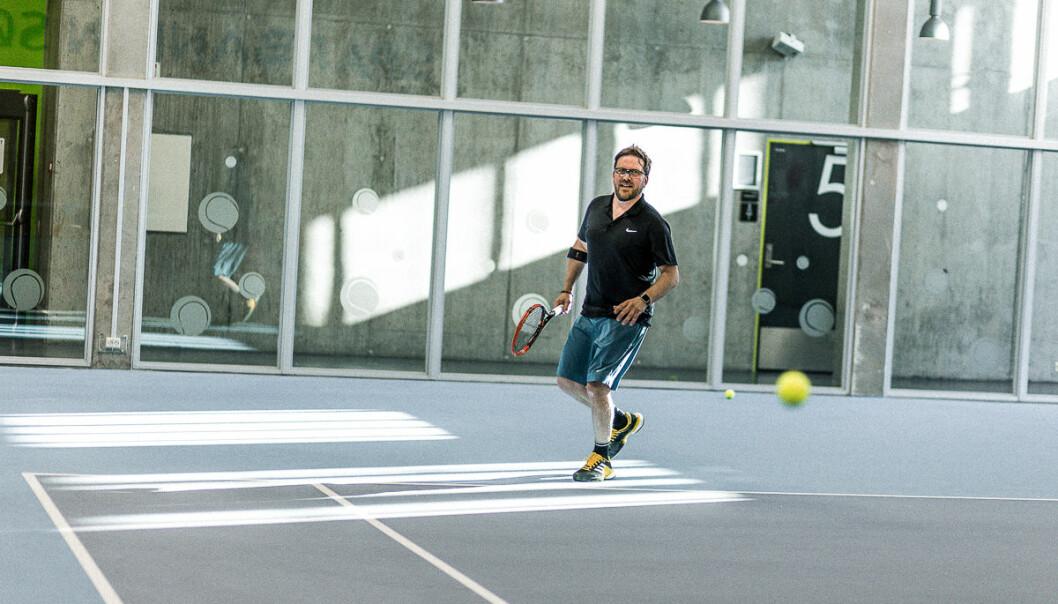Trond Kittelsen sluttet i Telenor for å starte tennis-tech. Foto: Christina Mihaela Carare, Nordic Tennis