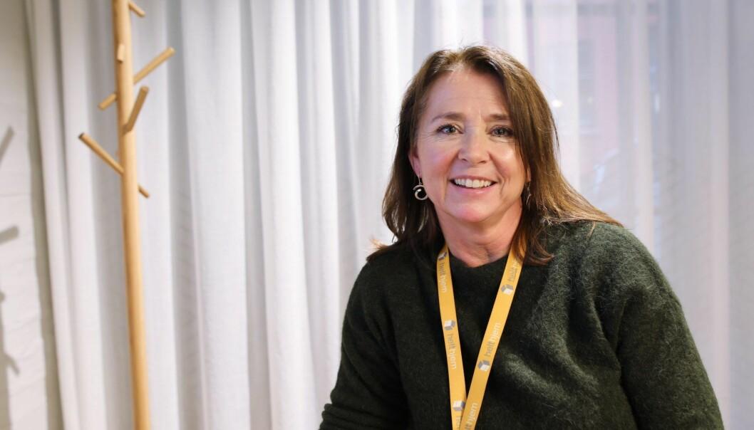 Cathrine Laksfoss er CEO i Schibsted Distribusjon. Foto: Lucas Weldeghebriel