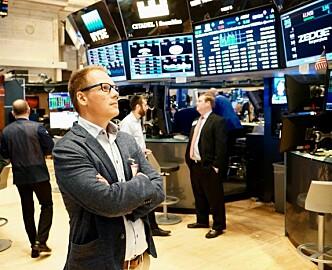 Reisebrev fra Wall Street: For gründer Tom Arnøy i Zedge er dette et