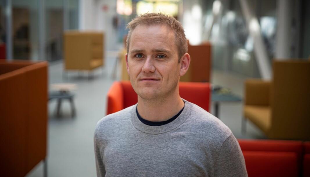 Geir Atle Bore. Foto: Per-Ivar Nikolaisen