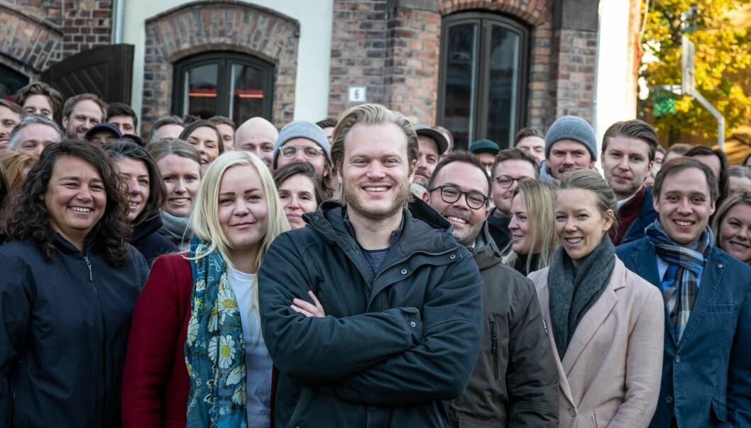 Remarkable er i dag over hundre ansatte. Gründer og administrerende direktør Magnus Haug Wanberg i front. Foto: Vilde Mebust Erichsen