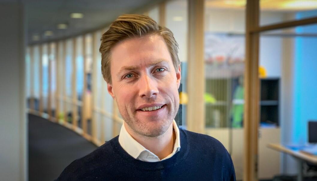Jan Fossgård, direktør i Construct Venture, AF Gruppen og OBOSs venturesatsning.