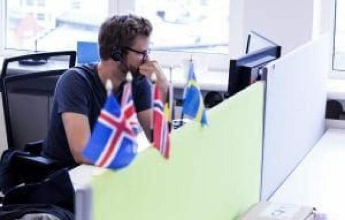 Xeneta har ansatte fra en rekke nasjonaliteter.