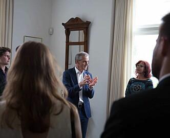 AP-leder Jonas Gahr Støre om opsjonsbeskatning: Vi vil se på erfaringer fra andre land og lytte til norske gründermiljøer