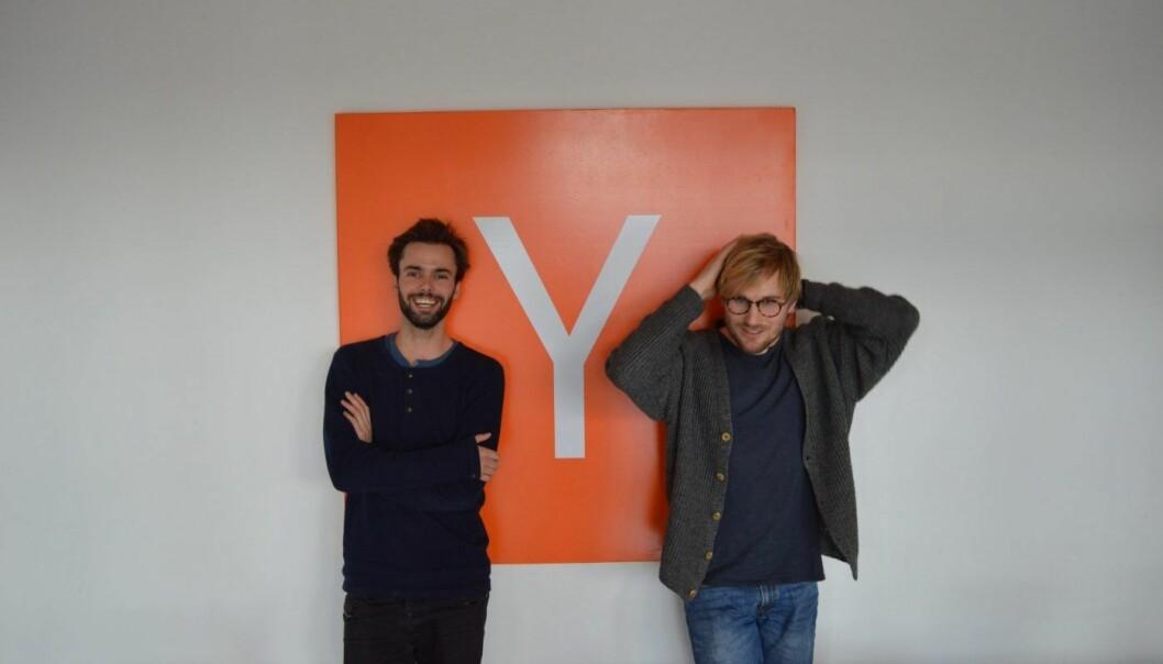 Sondre Rasch og Fredrik Thomassen i Konsus. Foto: Konsus