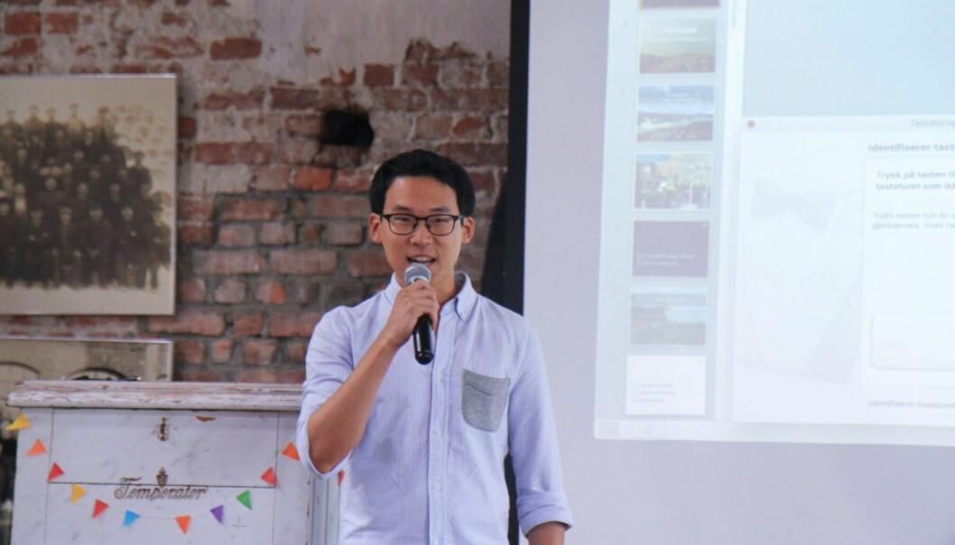 Andy Moon har skapt en lønnsom forretning av å installere solanlegg i utviklingsland. Foto: Lucas H. Weldeghebriel