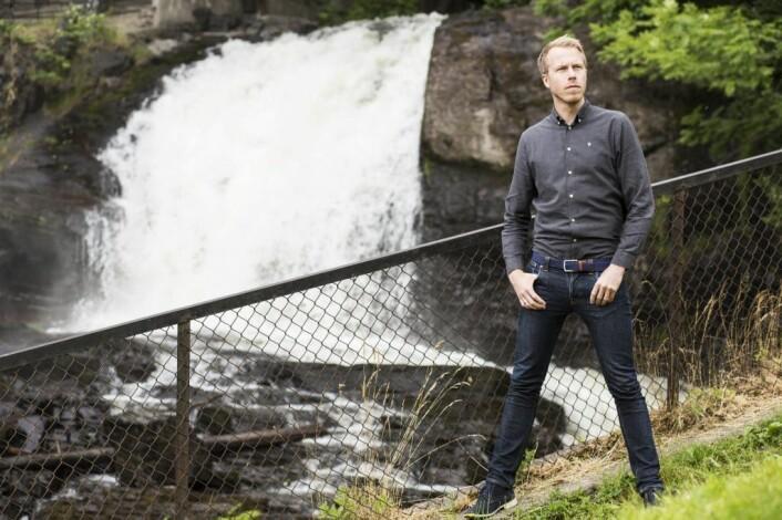 Patrik Berglund, CEO i Xeneta. Foto: Per-Ivar Nikolaisen