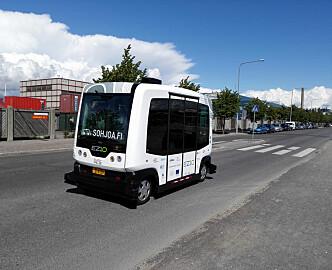 Ukens Norden: Selvkjørende busser, talemelding og budroboter