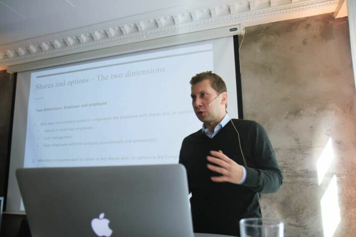 Advokat Daniel Løken Høgtun, i advokatselskapet Selmer. Foto: Lucas H. Weldeghebriel