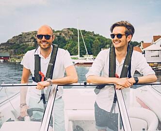 Markus (26) og Øyvind (35) bygger en startup på Facebook Messenger
