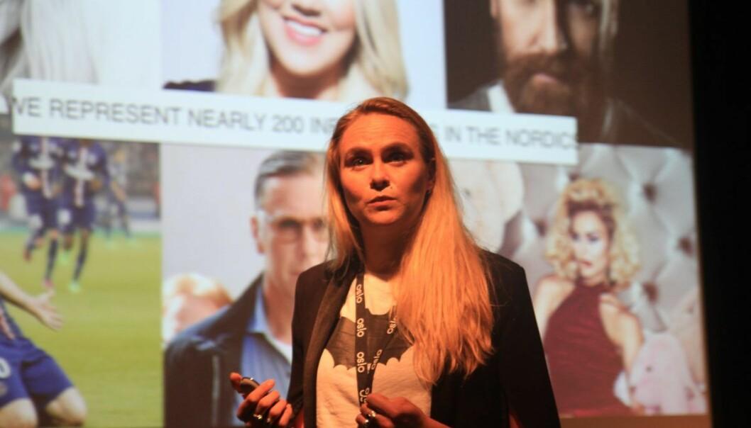 Lauga Oskarsdottir, gründer av «United Influencers»–Jeg skulle ønske jeg hadde en mentor da jeg startet selskapet. I dag har jeg fire stykker, sier hun.
