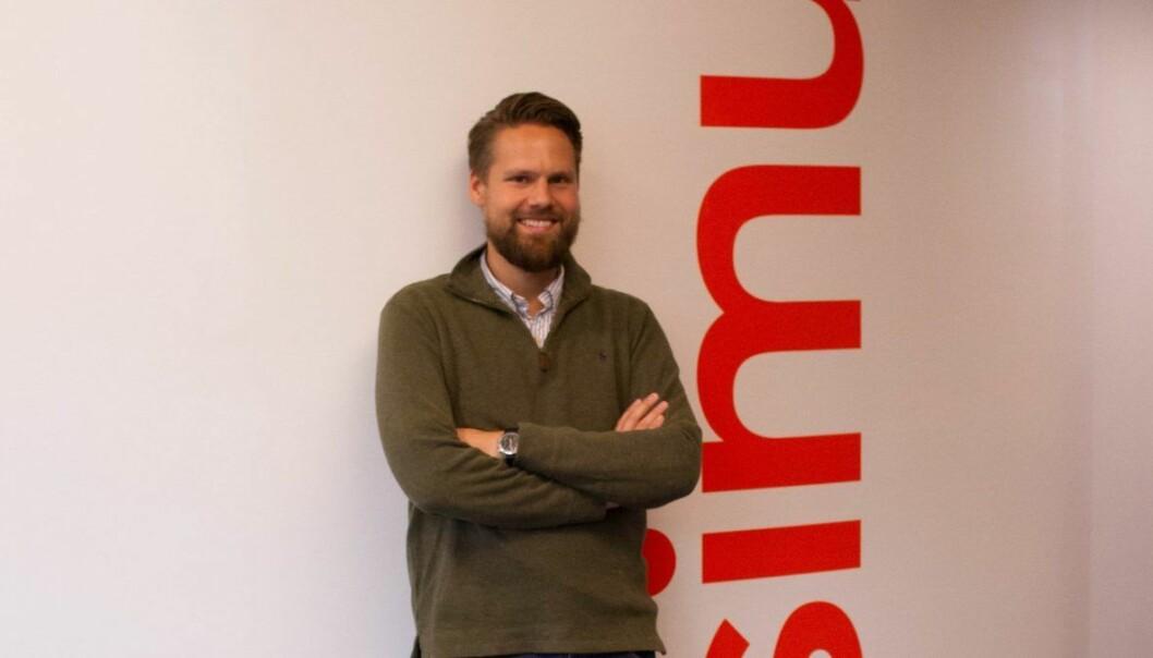 Christian Hemmestad Bjerke, assisterende direktør ved Simula Innovation.