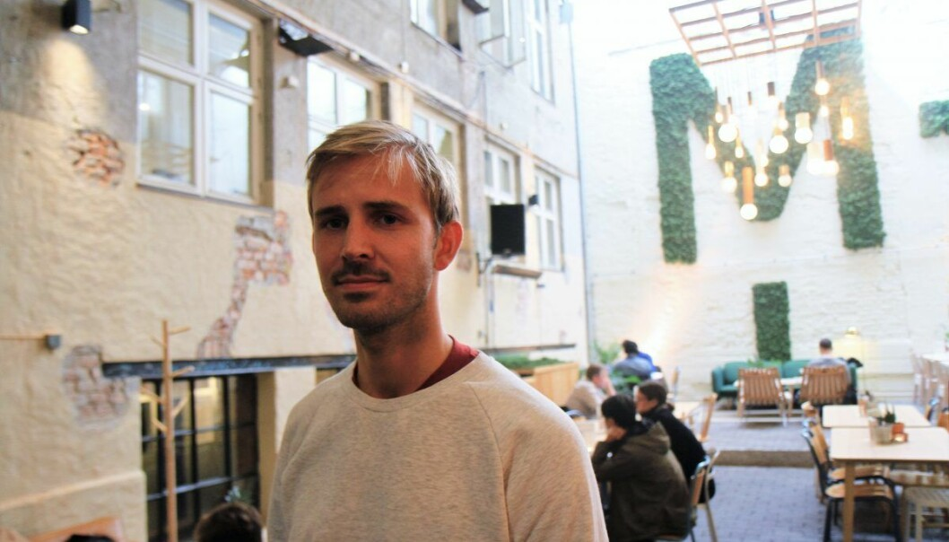 Anders Mjåseth, daglig leder og gründer av Mesh er fornøyd med å hente 15 millioner kroner, og skal nå utvide konseptet både i Oslo og andre steder. Foto: Lucas H. Weldeghebriel