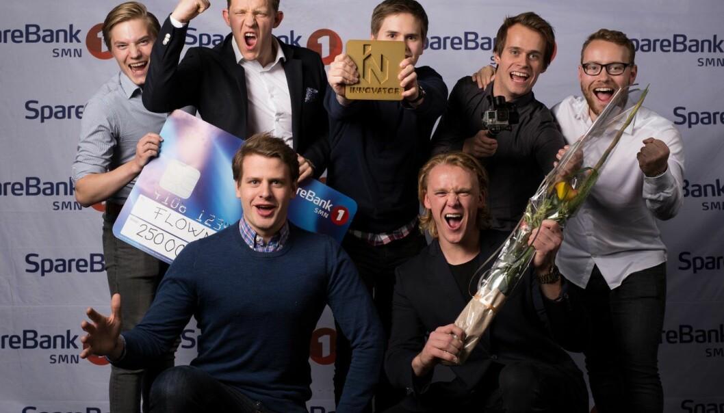 Flowmotion har vunnet flere priser på veien. Foto: Kai T. Dragland/NTNU