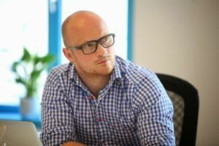 Medgründer Sigurd Gran, tidligere Plapre.com.
