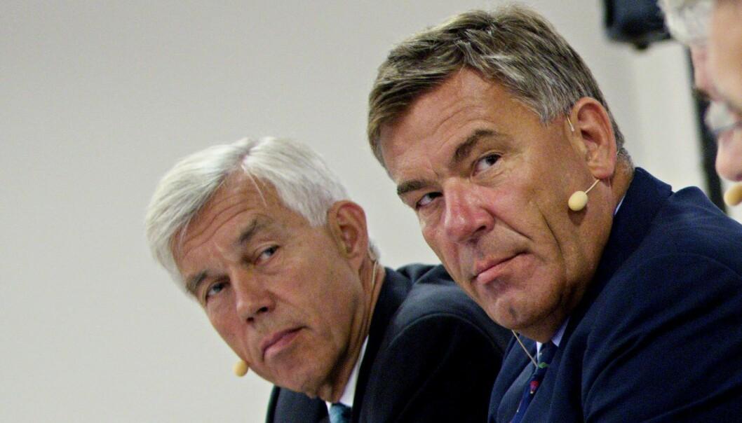 Åge Korsvold og Stein Erik Hagen var aktører i en av de største opsjonsskandalene rundt årtusenskiftet. Foto: Stian Lysberg Solum / NTB scanpix / Orkla