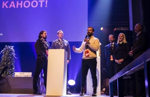 Kahoot vant Oslo Innovation Award. Men Johan Brand skulle sett at også politikerne var innovative