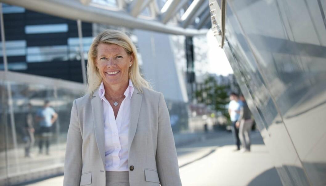 Kjerstin Braathen er påtroppende konserndirektør for finans i DNB. Foto: DNB