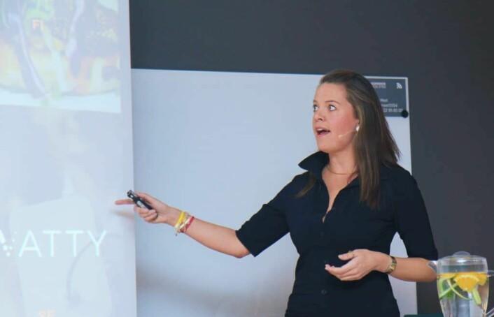 Aurore Belfrage i EQT Ventures. Foto: Lucas H. Weldeghebriel