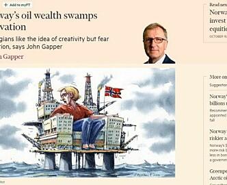 Sorry, du Financial Times-redaktør fra utlandet: Norge er mer enn ull og olje