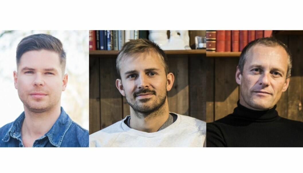 Kjartan Slette, Anders Mjåseth, Frode Eilertsen