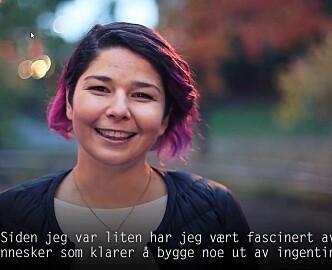 Tech-forfatter Maria Amelie skrev norsk