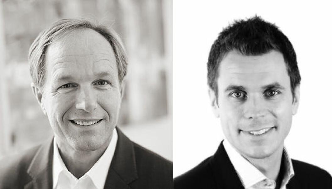 Harald Mowinckel Troye og Henrik Lie-Nielsen står bak Tripod.