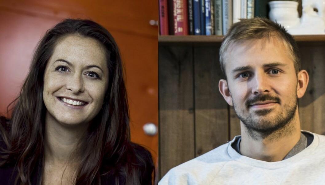 Tine Thygesen i Founders House og Anders Mjåset i Mesh slår seg sammen.