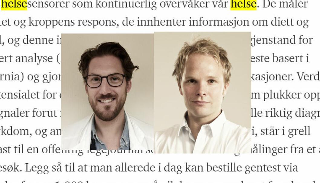 Andreas Pahle og Henrik Vogt.