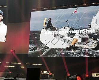 Slush 2016: Johan Brand lanserer tech-båt. Lager startup-space til sjøs
