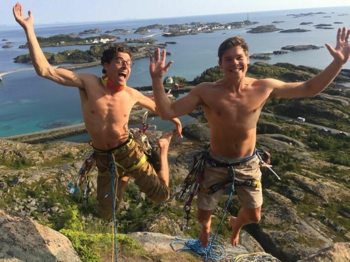 Gründere: Mats Alfsen og Andreas Hjelle . foto: Trevarefabrikken.