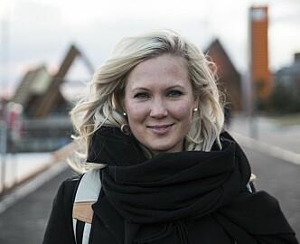 Podcast med Kimberly Larsen: Rusmisbruker da hun var 12, TV-stjerne da hun var 18, og gründer når hun er 36