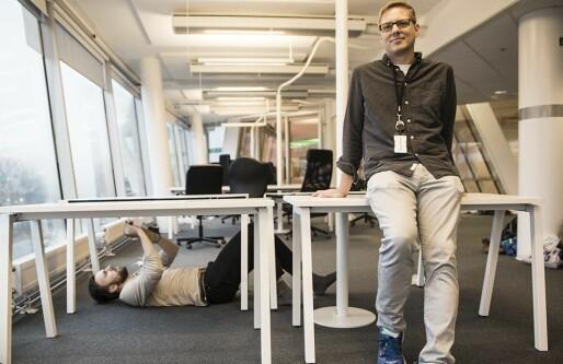 No Isolation flytter for tredje gang: Robotgjengen vokser så raskt at de trenger en hel etasje