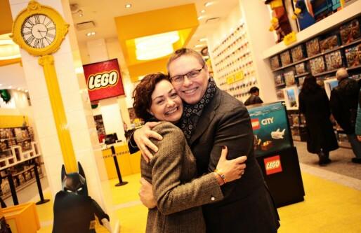 Gründer-ektepar klemmer til i New York: Landet avtale med Lego og satser tungt i USA